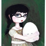 The Black Apple: A Good Egg Is Hard To Find print $18